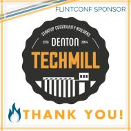 Sponsor Thanks for FlintConf 2020