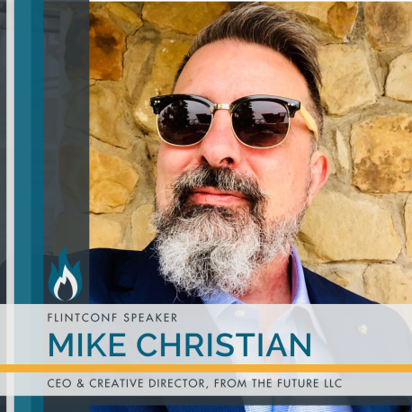 Speaker Graphic for FlintConf 2020